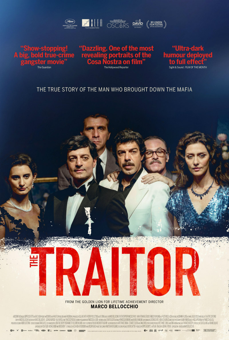 the traitor uk poster