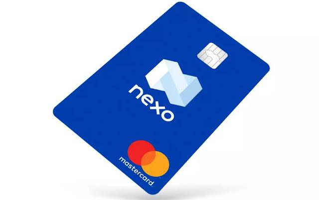 Nexo (NEXO) Cryptocurrency Card