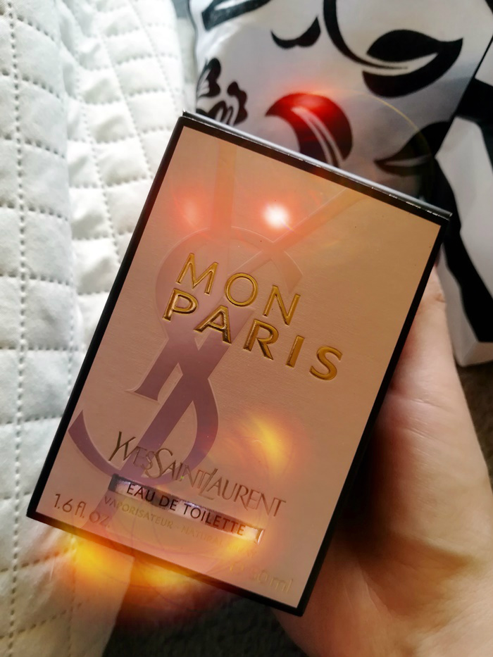 recenzja yves saint laurent mon paris