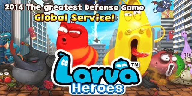 download game mod apk larva heroes