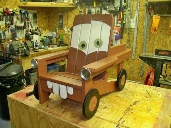 desain kursi anak lucu