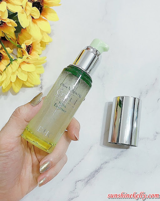 Review DHC Olive Virgin Oil Crystal Skin Essence, Beauty Review, DHC Malaysia, DHC Olive Oil, Japanese Skincare Malaysia, Olive Oil skincare, beauty