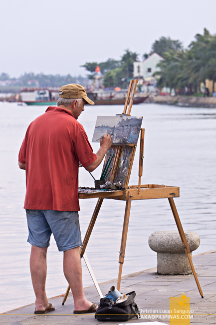 Hoi An Ancient Town Vietnam Painter