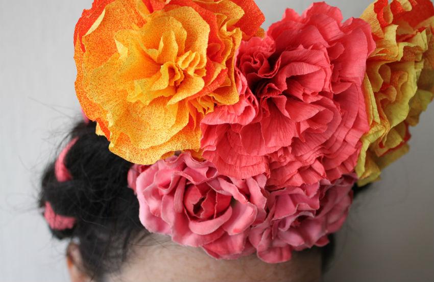 Corner Blog How To Make Crepe Paper Flowers My Way