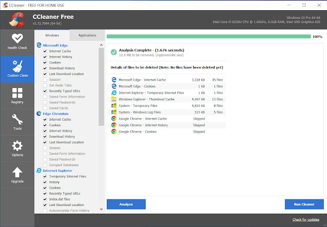 تحميل النسخة الأخيرة من برنامج CCleaner لتسريع جهازك الويندوز بظغطة زر واحدة