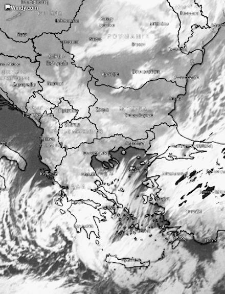 Νέα υποτροπή από το απόγευμα σε ανατολική και νότια Ελλάδα