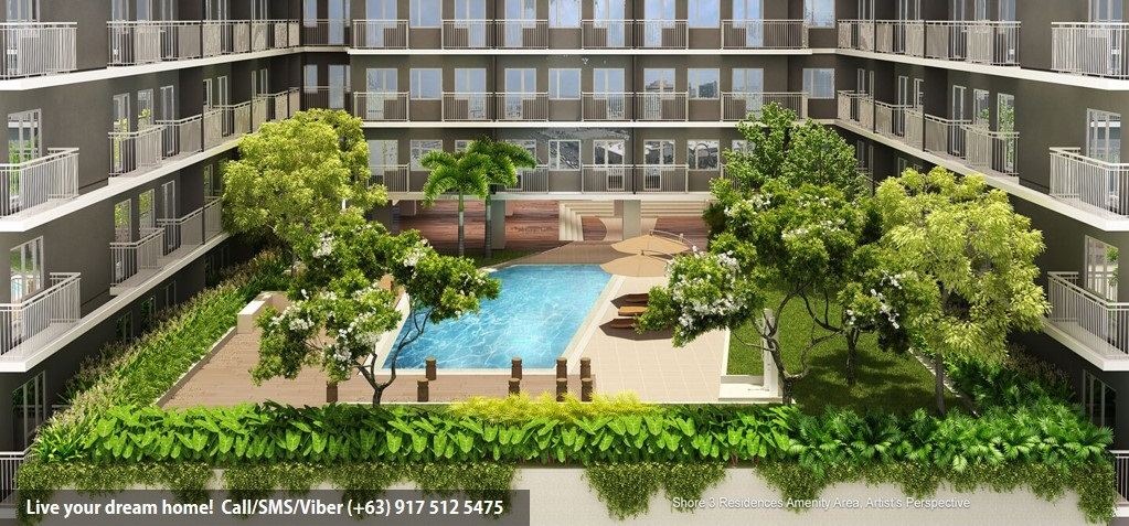 SMDC Shore 3 Residences - 2 Bedroom With Balcony | Condominium for Sale SM Mall of Asia Pasay