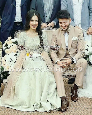 Shahveer Jafry And His Wife