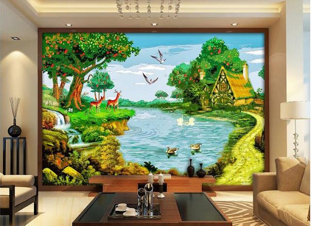 Mural 3d High Level Jasa Lukis Dinding Dan Mural 3d Murah Jakarta