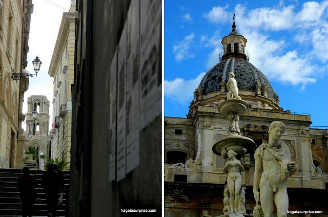 Piazza Pretoria, Palermo, Sicília