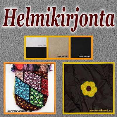 Helmikirjonta - helmikirjonnan tarvikkeet, siemenhelmet, Rose Montee - helmikauppa netissä