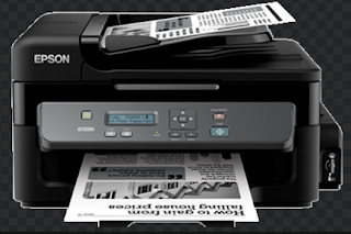 Tintenbehälter Epson M200 gibt es nur einen. Dies macht sicherlich eine beträchtliche Tintannya-Kapazität im Vergleich zu den Tanks der Epson L-Serie aus.