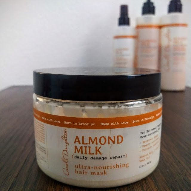 Almond Milk Ultra Nourishing Hair Mask | Review by This NATURAL Thing
