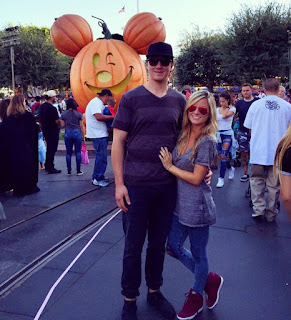 Tyler Toffoli With His Wife Cat Belanger