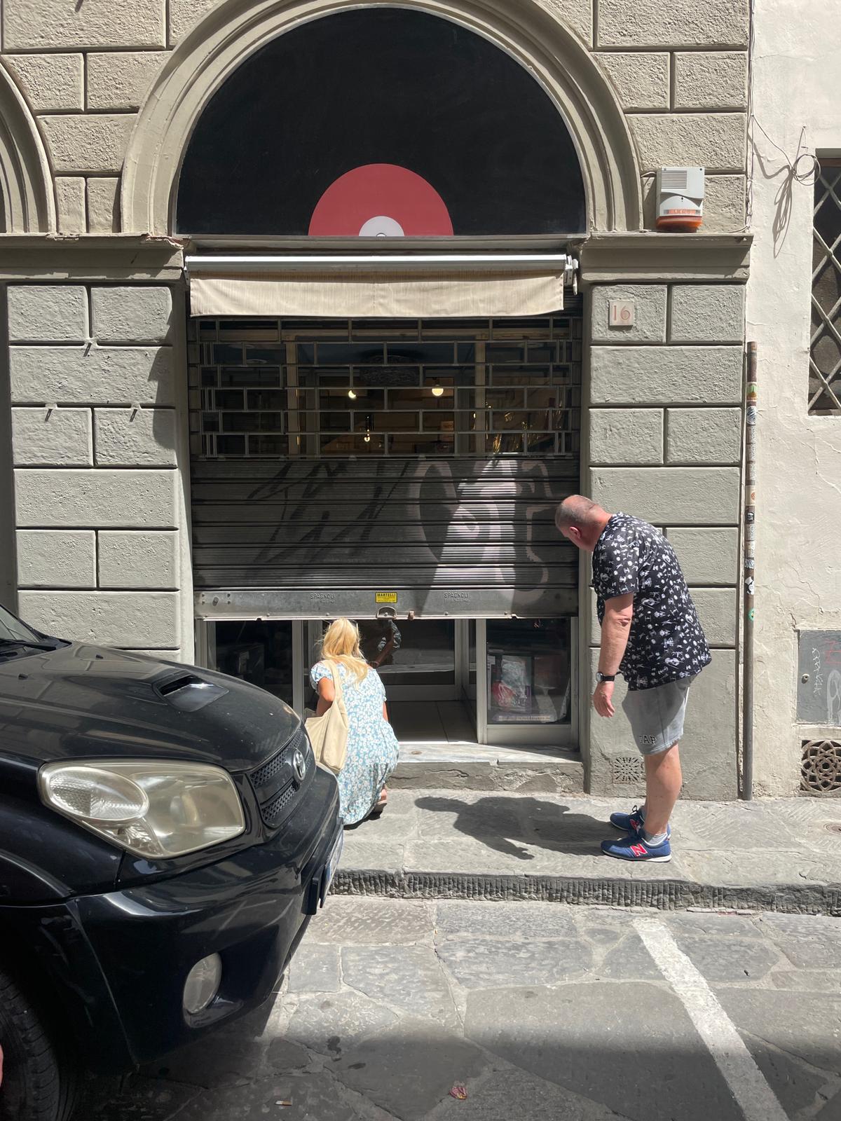 Dom z Kamienia blog, Florencja
