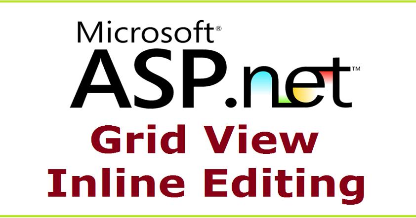 Coder 007: Gridview Inline Add/Insert, Edit/Update, Delete