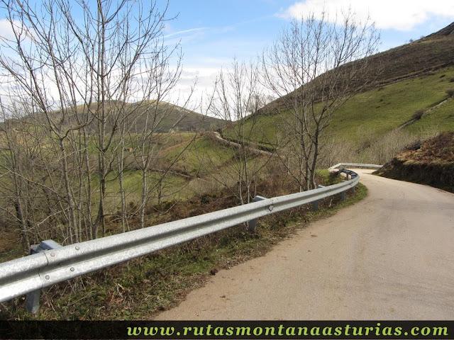Carretera a La Corredoria, Belmonte