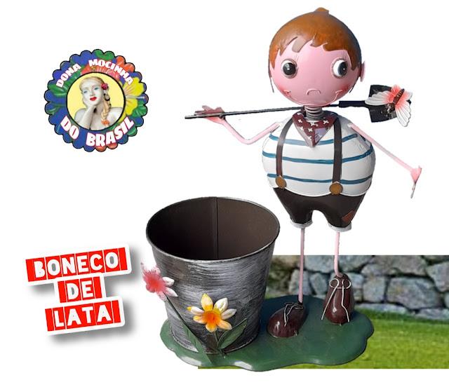 BONECO DE LATA