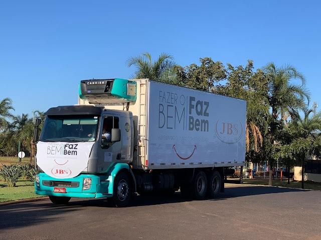 Itumbiara recebe novas doações da JBS