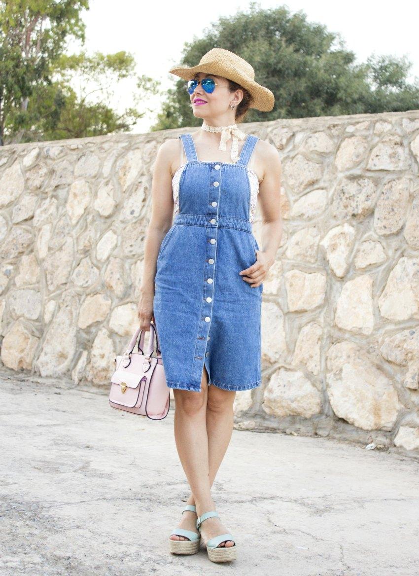 melange_boutique_fashion_blog_de_moda_pichi_peto_vaquero_verano_rayban_espejo_espadrilles_gargantilla_choker_5