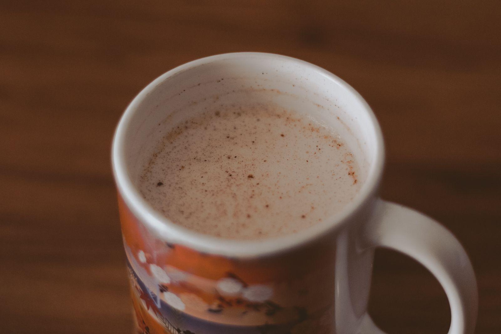 Tem um rato na cozinha + terminei the office hot cocoa