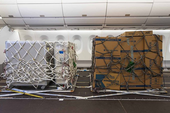 Airbus A350 & A330 Can Now Be Converted For Pure Cargo Operations In 2 Days
