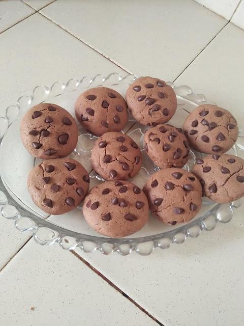 චොකලට් කුකීස් (Chocolate Cookies) - Your Choice Way