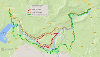 Gorges du Verdon cycling