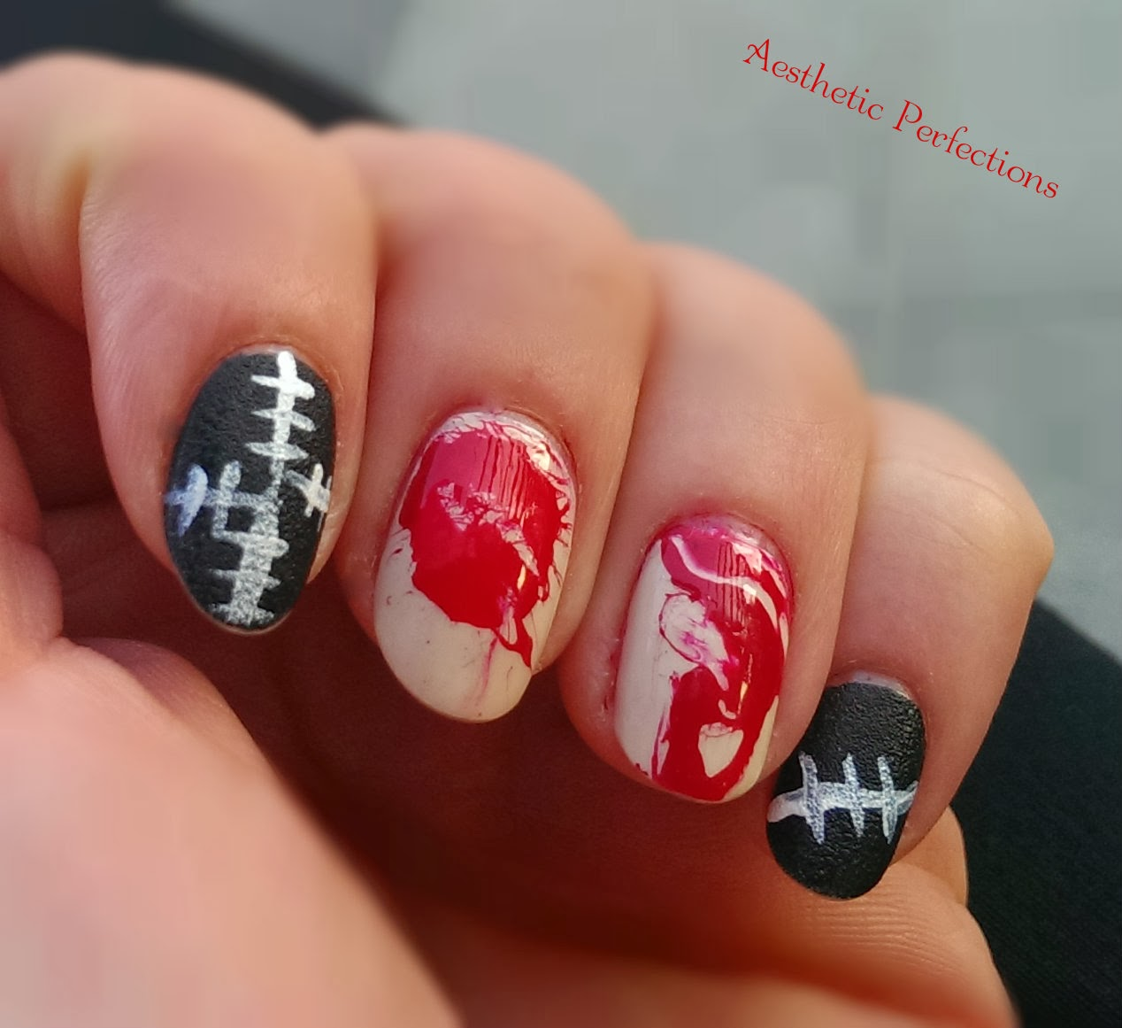 Aesthetic Perfections Halloween Nails