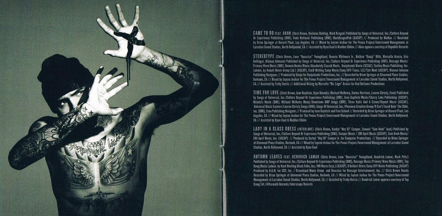 Encartes Pop: Encarte: Chris Brown - X (Deluxe Edition)