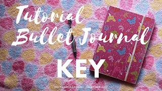 Contoh Cara Menggunakan Key Pada Bullet Journal (+Video)