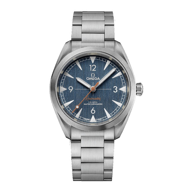 "Omega Railmaster Master Chronometer ""Denim"""
