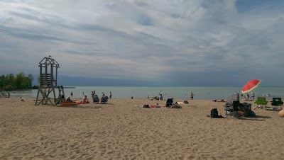 Beach in Goderich