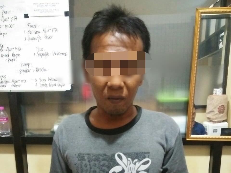 Jambret Warga Karanganyar, Pria Asal Purworejo ini Diringkus Polisi