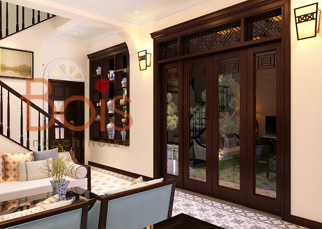 Đưa thiết kế phong cách kiến trúc Indochine vào Căn hộ resort Picity High Park