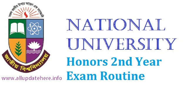 NU Honors 2nd Year Exam Routine