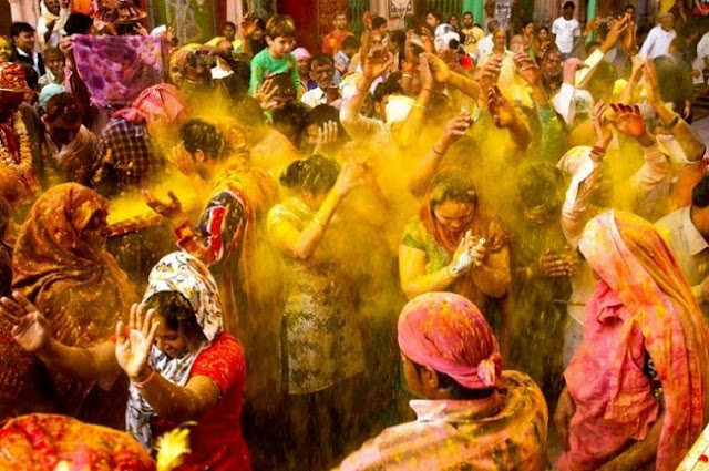 What is the Significance of Colors on Holi?