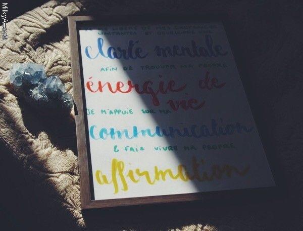 Création calligraphiée Madroline