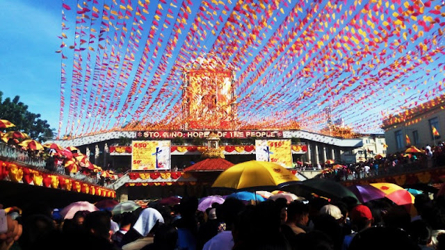 Basilica del Sto Nino Novena Mass during Sinulog 2015