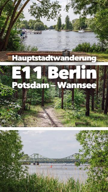 Europäischer Fernwanderweg E11  Hauptstadtwanderung Berlin  Etappe von Potsdam zum Nikolassee am Wannsee  Wandern in Berlin-Brandenburg  Tourenplanung mit GPS-Track 21