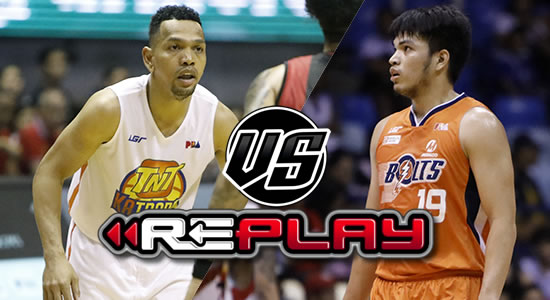 Video Playlist: TNT vs Meralco replay 2019 PBA Philippine Cup