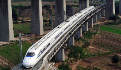 Chin's new high speed train
