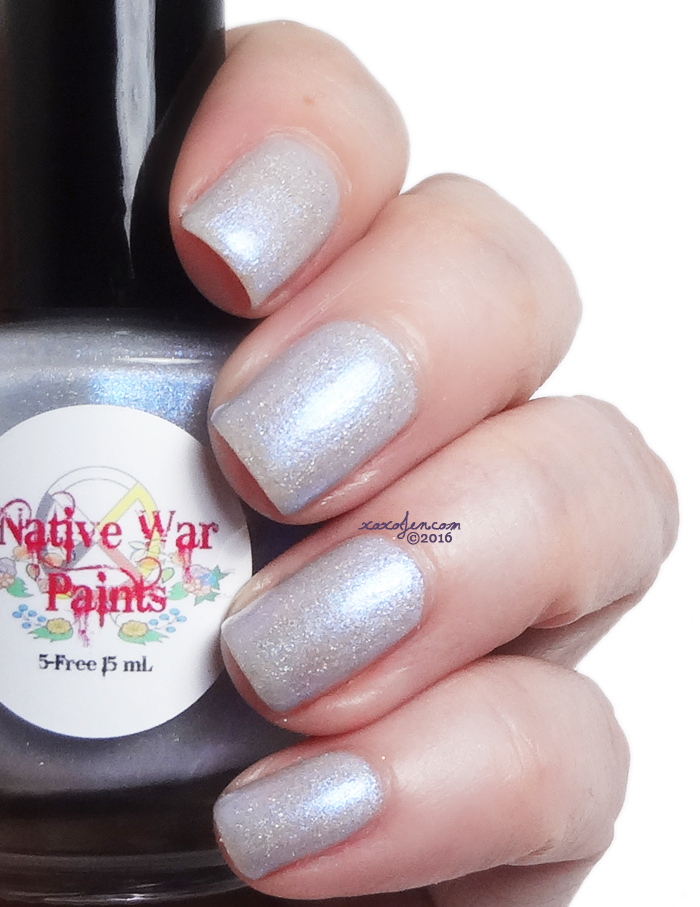 xoxoJen's swatch of Native War Paints Midichlorian Count