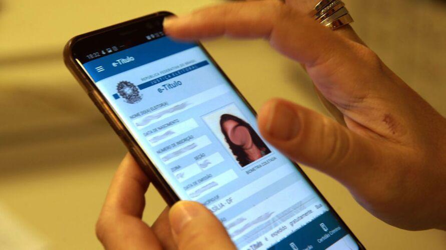 Eleitor pode justificar ausência na votação pelo celular