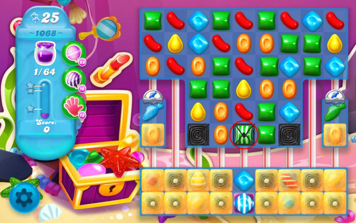 Candy Crush Soda Saga 1068