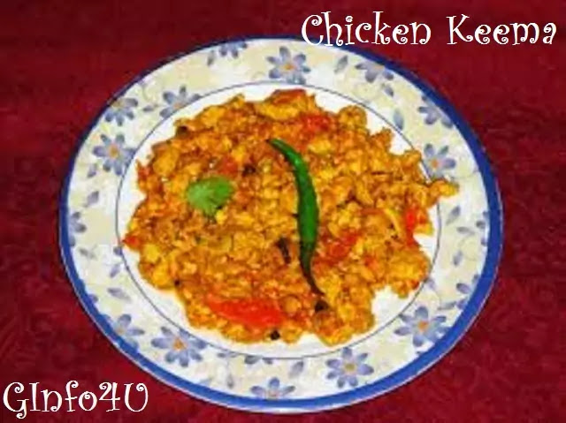 Chicken Keema recipe-how-to-make-Chicken Keema recipe-by-ginfo4u