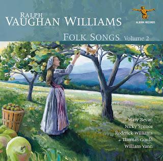 Vaughan Williams Folk Song Arrangements, volume 2; Mary Bevan, Nicky Spence,
