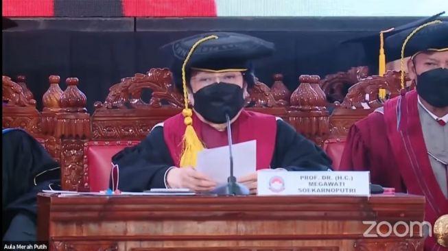 Disindir Puji Diri Sendiri, Profesor Megawati: Saya Ini Anak Presiden Sudah, Jadi Presiden Juga Sudah, Jadi Sudah Kenyang!
