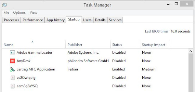 Windows 10-Task Manager