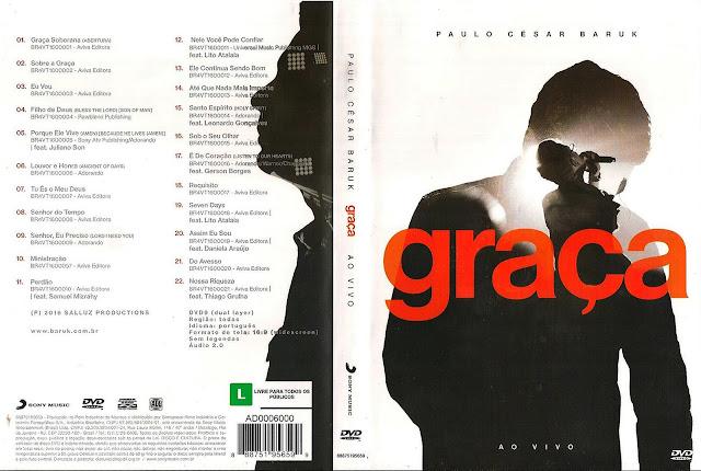 Capa DVD Paulo César Baruk - Graça ao Vivo (Oficial)